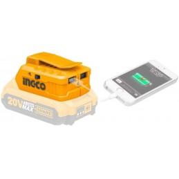 CARGADOR USB 20V INGCO...