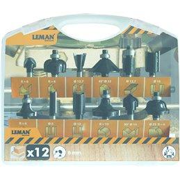 CAJA 12 FRESAS LEMAN 416.700.12
